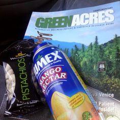 hi5mary: Light Snacks. #wonderful #pistachios #jumex #nectar #mango #Healthy #snack #vegetarian ish haha… instagram.com/p/Xaoo65jkJ5/