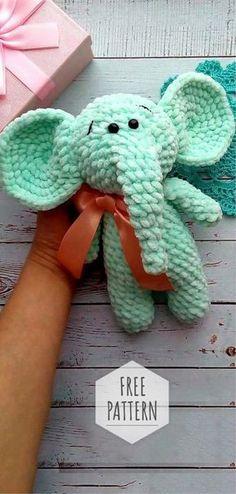 Amigurumi Soft Elephant Pattern