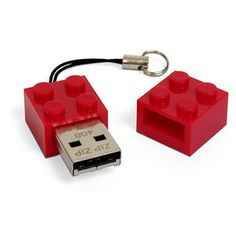 Not only is it a fun USB stick...but you can embed/hide/build them into lego creations as they actually work as bricks...