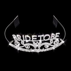 Wedding Headband Bachelorette Sparkle Tiara Hen Party Crown Bride Bridal Shower Supply is cheap, see other hair accessories on NewChic. Glitter Bachelorette Party, Bachelorette Parties, Bride Tiara, Bridal Shower Party, Party Wedding, Bacherolette Party, Gift Wedding, Wedding Favors, Wedding Dress