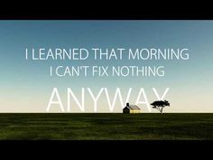 Everything Is Alright (LYRICS) - The Glorious Sons - YouTube