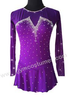 Rhythmic Gymnastics Leotards, Figure Skating Dresses, Ice Skating, Swarovski Crystals, Acro, Costumes, Formal Dresses, Trending Outfits, Blouse