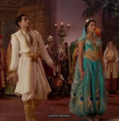 The Harvest Dance!🐯👸🏰 What do you think? All Disney Princesses, Disney Princess Art, Princess Outfits, Princess Jasmine Dress, Aladdin And Jasmine, Aladdin Movie, Aladdin Cast, Couples Halloween Outfits, Aladdin Wedding