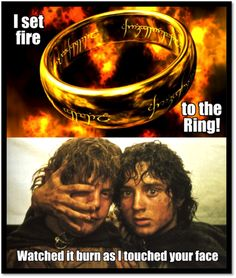 Adele + Lord of the Rings. Can't stop laughing. But I hate Adele with a burning passion. which somehow makes it funnier?