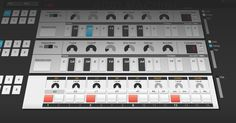 TB-808 & 2xTB-303 - A work in progress web audio tool by Errozero