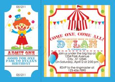 77 best payasos images on pinterest clown party circus birthday