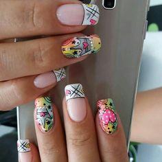 Nail Ideas, My Nails, Nail Art, Paint, Enamels, Finger Nails, Short Nails, Bicycle, Fingernail Designs