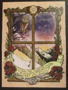 Original concert poster for Phil and Friends featuring Phil Lesh, John Scofield, Warren Haynes, Jackie Greene and Joe Russo at The First Bank Center in Broomfield, Colorado in 2012. 14 x19 inches. Signed and numbered out of only 100 by the artist Mark Serlo.