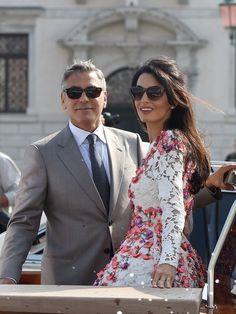 Amal et George Clooney : lune de miel à l'heure anglaise ?