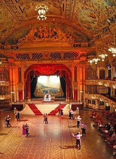 Nothing beats competing here - Blackpool Tower Ballroom