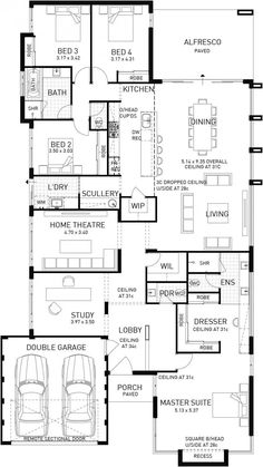 Riviera, Single Storey Display Floor Plan, WA