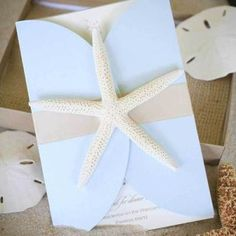 An invitation to that beach wedding