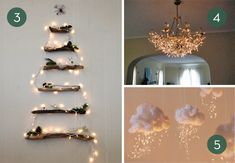 Roundup: 10 Alternative Ways To Display Christmas Lights » Curbly | DIY Design Community  #5