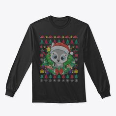 Discover Wolf Xmas Gift Forest Animal Werewolf Ug T-Shirt, a custom product made just for you by Teespring. With world-class production and customer support, your satisfaction is guaranteed. - Celebrate Christmas in style...! Enjoy the... Merry Christmas Meme, Forest Animals, Customer Support, Werewolf, Xmas Gifts, Graphic Sweatshirt, T Shirt, Just For You, Sweatshirts
