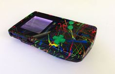 Items similar to Custom Frontlit Nintendo Gameboy Color for Retro Gaming in the dark or LSDJ Chiptune Prosound on Etsy Fruit Slime, Custom Consoles, Freak Flag, Old Video, Game 3, Metroid, Mega Man, Gorillaz, Nintendo Consoles