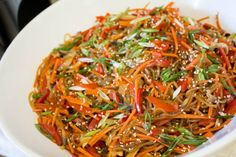 Korean Japchae Sweet Potato Noodles