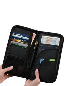Smooth Trip RFID-Blocking Passport Wallet and Travel Organizer