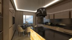 Onyx Kitchen 1 By Fadi Wardeh. 3D Max.