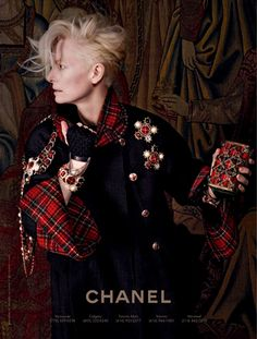 Tilda Swinton for Chanel   Tom & Lorenzo