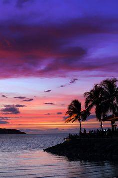 Sunset in Sabah, Malaysia