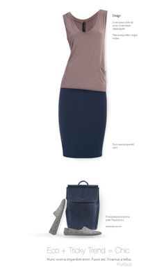 """Eco + Tricky Trend = Chic"" by kurious ❤ liked on Polyvore featuring UmaSan, Fabi and VERONA"