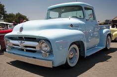 A Brief History Of Ford Trucks – Best Worst Car Insurance Ford 56, 1956 Ford Truck, Old Ford Trucks, Old Pickup Trucks, Farm Trucks, Classic Chevy Trucks, Lifted Trucks, Pickup Camper, Lifted Chevy
