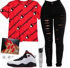 Best Cute Outfits For School Part 2 Swag Outfits For Girls, Boujee Outfits, Cute Swag Outfits, Teenage Girl Outfits, Cute Comfy Outfits, Cute Outfits For School, Teen Fashion Outfits, Sporty Outfits, Dope Outfits