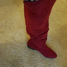 A pair of boots Over the knee boots Shoe Dazzle Shoes Over the Knee Boots