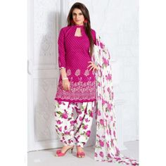 Scenic Printed Unstitched Polycotton Casual Wear Suit at just Rs.410/- on www.vendorvilla.com. Cash on Delivery, Easy Returns, Lowest Price.