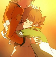 Pidge wouldn't have just tears shed be going all out crying no matter who's there