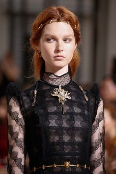 Lannister Mourning Dress | Valentino Fall 2015