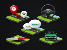WD Fleet - Android app icons by Petr | Direct-services