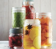 Our favourite jams, jellies, pickles and chutneys