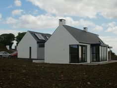 New homes and house extension projects by Edge Architecture - CORK ARCHITECTS including work for Carbery, OPW, Coilte Modern Bungalow House, Rural House, Bungalow House Plans, Dormer Bungalow, Farm House, House Designs Ireland, House Plans South Africa, Cottage Extension, Farmhouse Architecture
