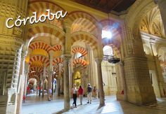 Cordoba, Spain and the incredible mezquita!
