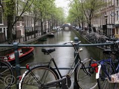 Amsterdam Bicycle Photo Fine Art Photography by PrettyNicePhotos