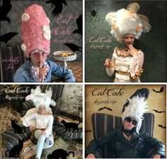 Eat Cake Party Wigs - Fairfield World Craft Projects Adult Mickey Mouse Costume, Frozen Costume Adult, Halloween Costumes You Can Make, Halloween Diy, Native American Halloween Costume, Poison Ivy Costumes, Felt Squares, Tinker Bell Costume, World Crafts