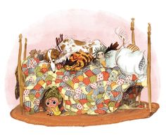 Illustration from 'Wild' by Emily Hughes – published by Flying Eye Books