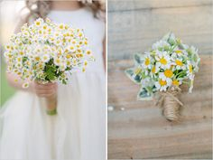 mini daisy wedding ideas