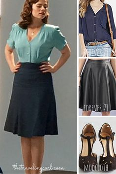 Fiction Fashion: 3 Looks Inspired by Agent Carter