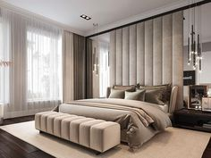 Awesome Luxury Modern Master Bedroom Design will Inspire You - home decor update Modern Luxury Bedroom, Luxury Bedroom Design, Master Bedroom Interior, Modern Master Bedroom, Master Bedroom Design, Minimalist Bedroom, Contemporary Bedroom, Luxurious Bedrooms, Home Decor Bedroom