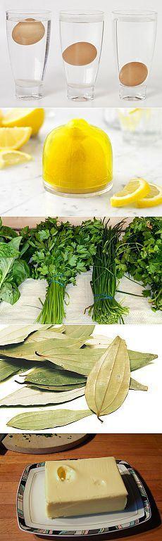 20 простых кухонных трюков / Все для женщины