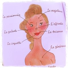 Meaning of moles My Little Paris, French Kiss, Illustrations, Beauty Room, French Language, Drawings, Pictures, Painting, Dolls