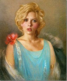 If today's celebrities were living in the Renaissance... #scarlettjohansson