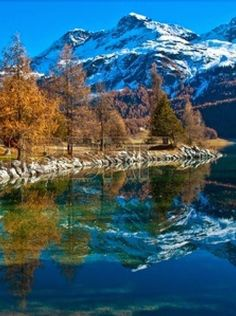 Lake Silvaplana is in the Upper-Engadine ,Switzerland. - travellingspots4u