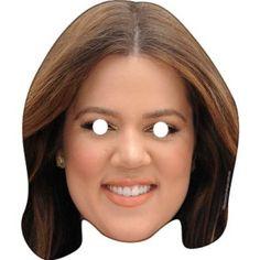 Khloe Kardashian Celebrity Face Mask