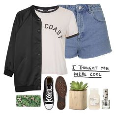 """""""Happy Little Pill//Troye Sivan"""" by thelonelyheartsclub ❤ liked on Polyvore featuring мода, Topshop, Converse, Monki, Davines и Casetify"""