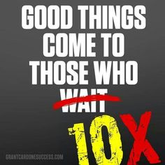 Read The 10X Rule by Grant Cardone  Available on www.audible.com