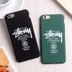 ファッションブランドStussy iPhone7/6ケース アイフォンPlus保護カバー6S/7プラスマット素材ハードケース4.7インチおしゃれ5.5