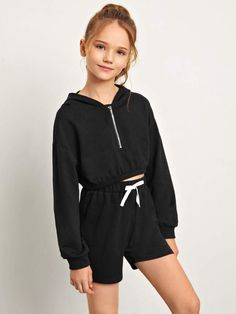 Really Cute Outfits, Cute Outfits For Kids, Cute Casual Outfits, Tween Fashion, Girls Fashion Clothes, Teen Fashion Outfits, Girls Fall Outfits, Celine, Shorts